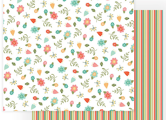 Tulla & Norbert I Love Gnomes 12x12 Patterned Paper