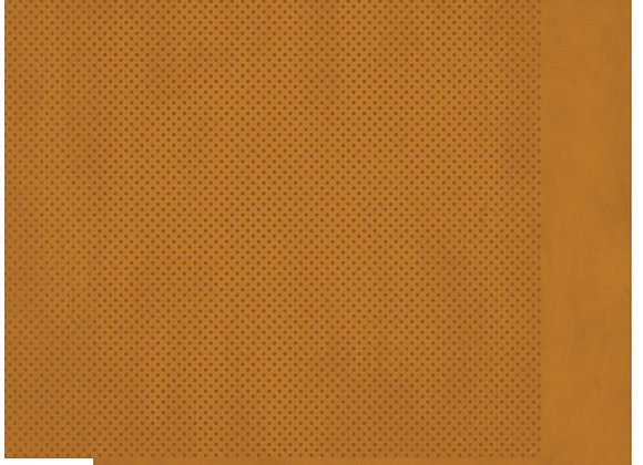 Gingerbread Double Dots 12X12 2-Sided Cardstock Paper BoBunny