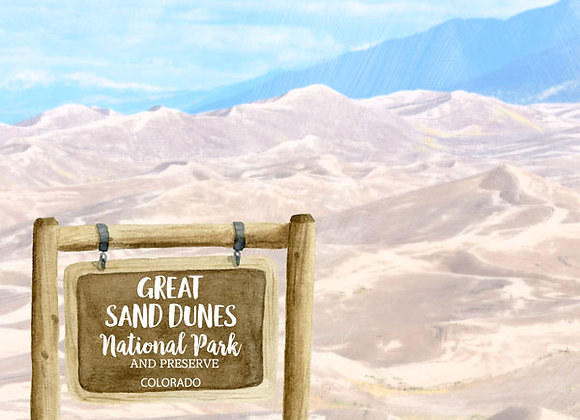 Great Sand DNational Park 12x12