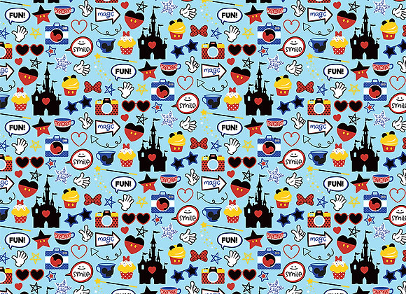 Mouse House  12x12 - 2 Sided Scrapbook Paper Another Day at the Park