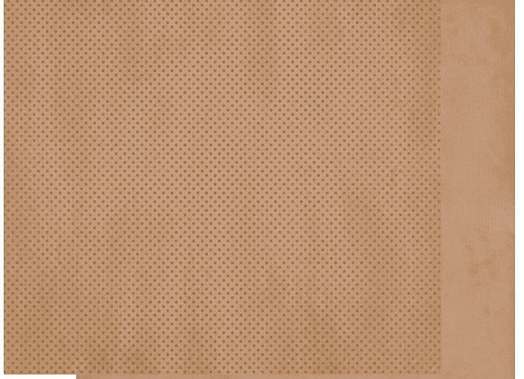 Decaf Double Dots 12X12 2-Sided Cardstock Paper BoBunny