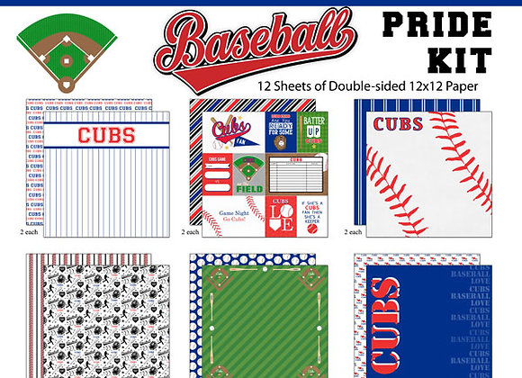 CUBS Page Kit 12X12