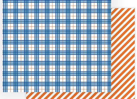 Little Builder All Boy 12x12 Patterned Paper