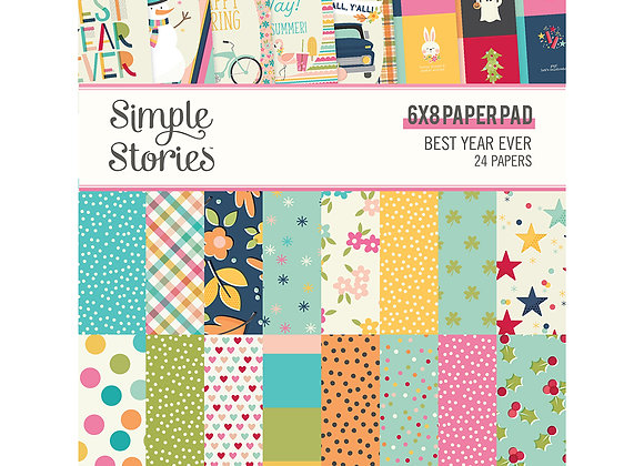 Best Day Ever 6x8 Paper Pad