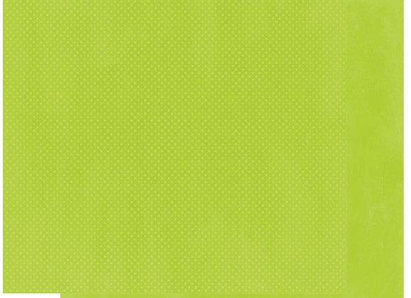 Kiwi Double Dots 12X12 2-Sided Cardstock Paper BoBunny