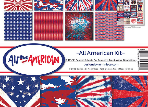 All American 12X12 Collection