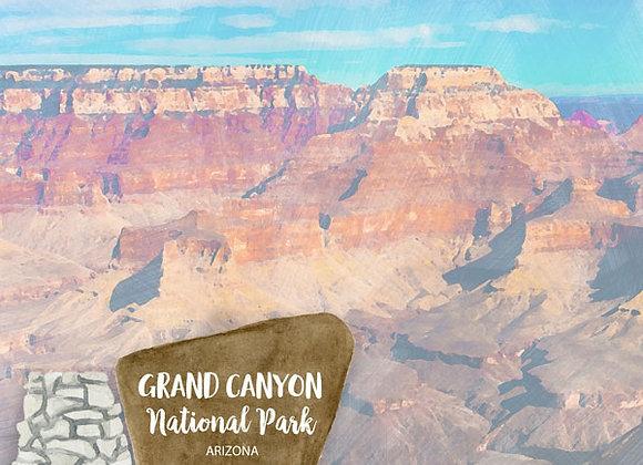 Grand Canyon Park 12x12