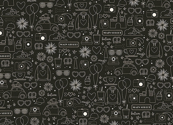 Worth the Wait 12X12 Designer Scrapbook Paper, Say Cheese 4, Simple Stories
