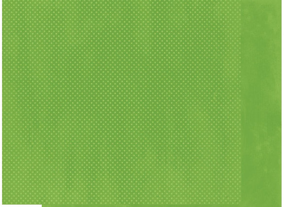 Wasabi Double Dots 12X12 2-Sided Cardstock Paper BoBunny