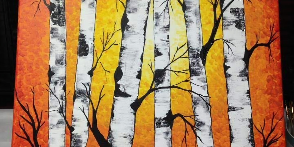 BIRCH Painting October 28, 2018 Sunday Funday Event!