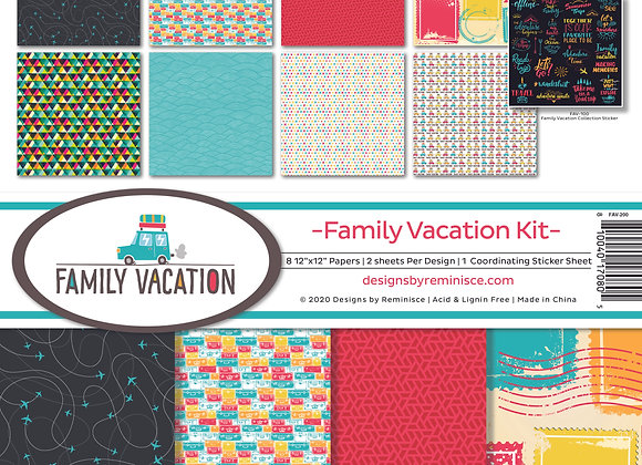 Family Vacatio 12X12 Collection