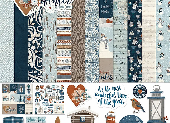 For the Love of Winter 12x12 Collection Kit