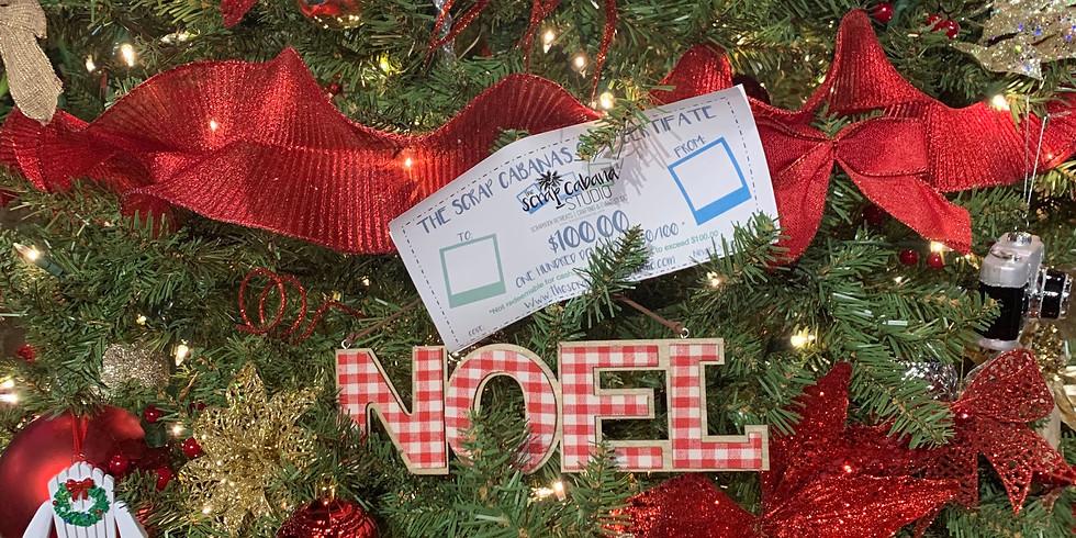Christmas Gift Certificate Special 2019 $100.00 + $28.00 BONUS