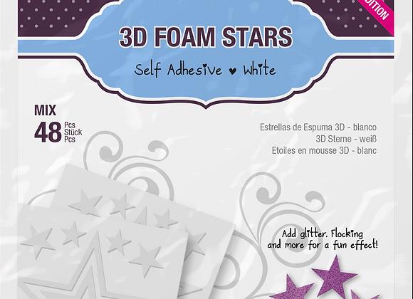 3D Foam Stars