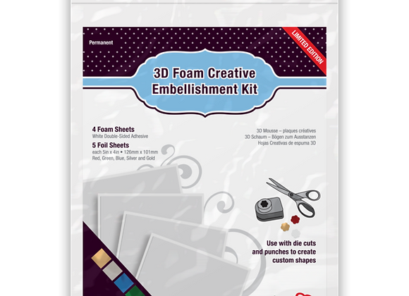 3D Foam Creative Kit with Foil