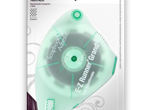 EZ Runner Grand Repositionable Dots Adhesive Refill Scrapbook Adhesives