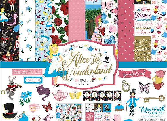 Alice in Wonderland 2 Collection Kit