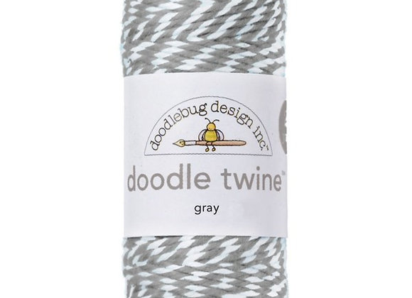 Gray Doodle Twine