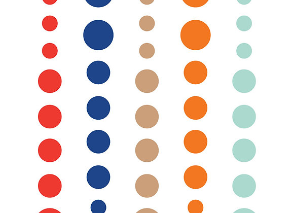 Are We There Yet Enamel Dots