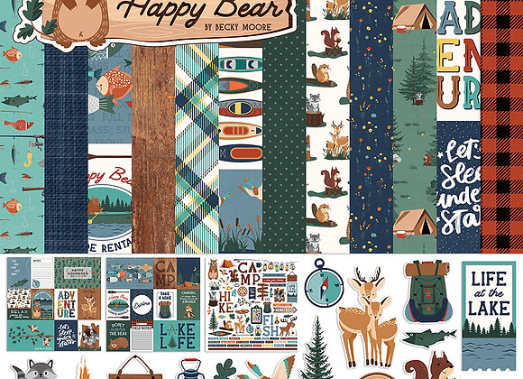 Camp Happy Bear Collection Pack