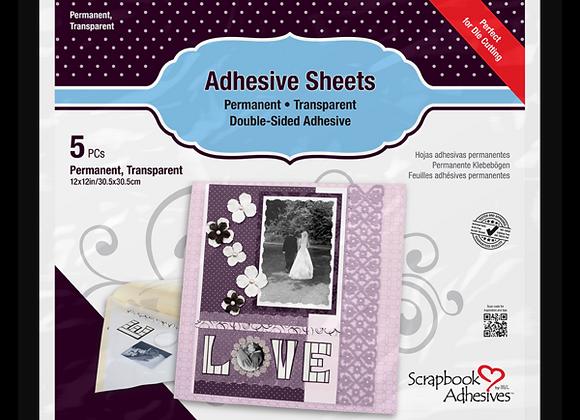 Adhesive Sheets 12X12