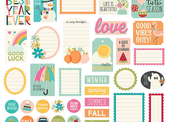 Best Day Ever Journal Bits & Pieces