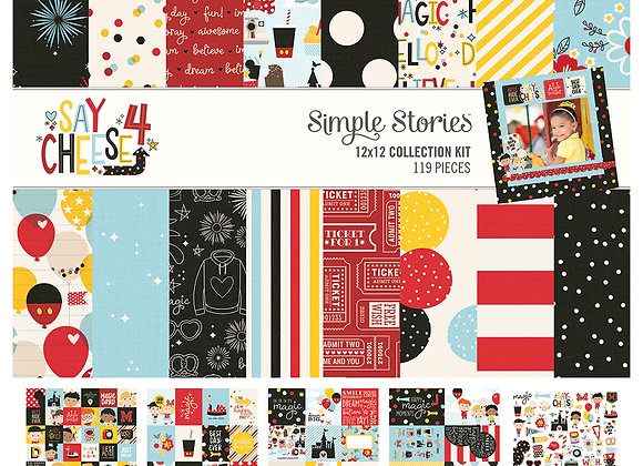 Say Cheese 4,  Collection Kit, Simple Stories