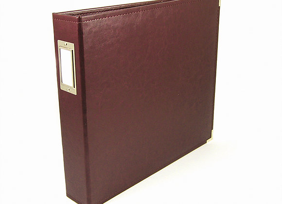 Cinnamon  12x12 3 Ring Binder Scrapbook Album