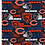 Thumbnail: Chicago Bears Cotton Fabric Hometown Mask Big Bear