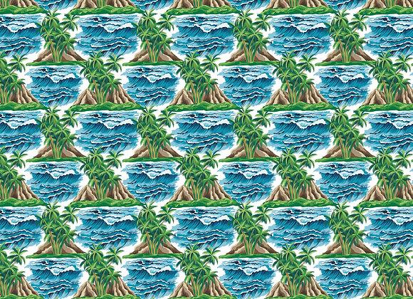 Hawaiian Vintage 12x12 Paper