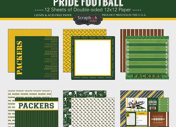 GREEN BAY Page Kit 12X12