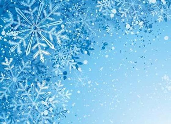 Snowflakes 12x12 Paper 2020