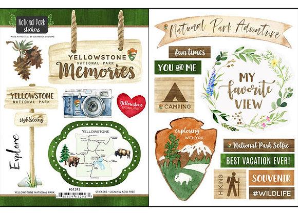 Yellowstone National Pk Sticker