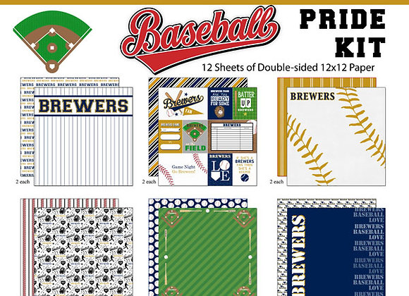 Brewers Pro Page Kit 12X12