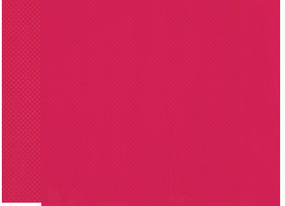 Strawberry Double Dots 12X12 2-Sided Cardstock Paper BoBunny