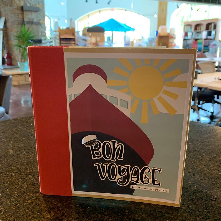 Bon Voyage Cruisin' 6X8 - 23 Page Binder Album Class
