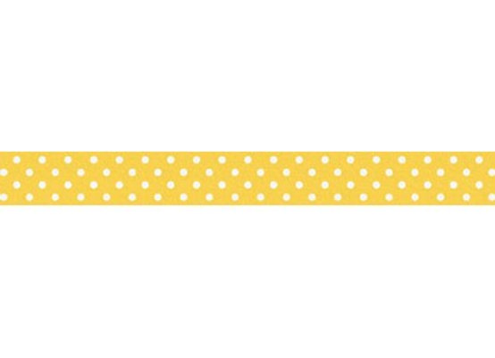 Bumblebee Swiss Dot Washi Tape