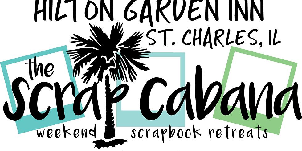 Oct 12-14 2018 6th Annual SCRAPOWEEN, St. Charles Hilton Garden Inn, Themed Weekend Scrapbook Retreat