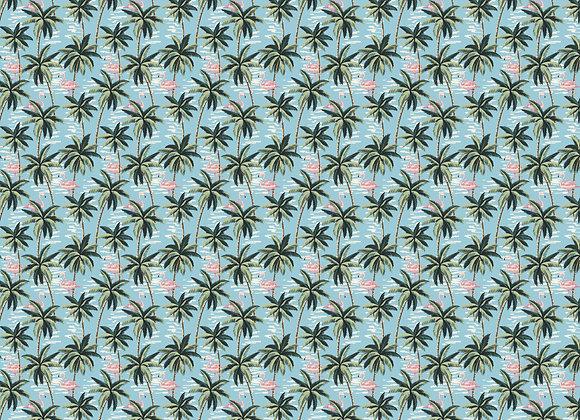 Flamingos in Paradise 12x12 Paper