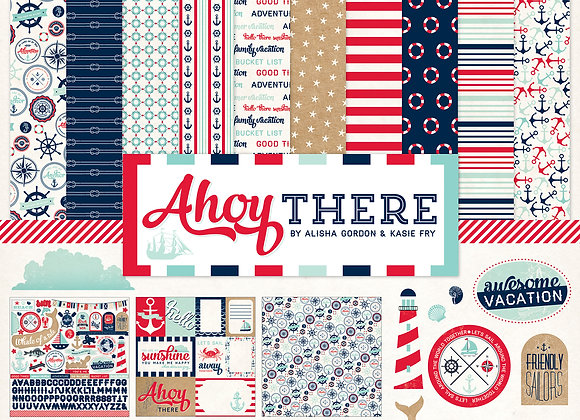 Ahoy There Collection Kit