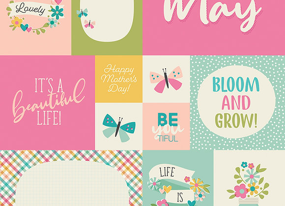 May 12x12 Designer Cardstock Paper Simple Stories 2020