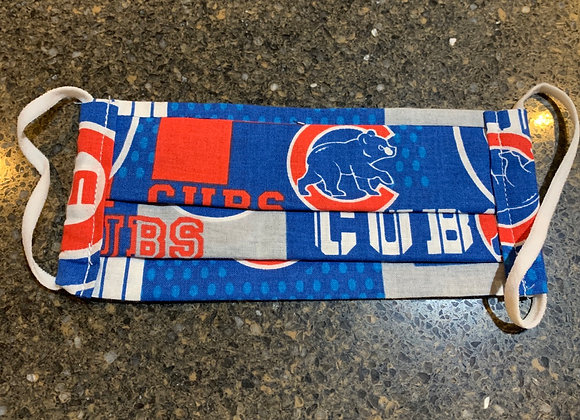 Chicago Cubs Patch Away Cotton Fabric Mask