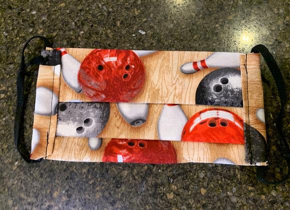 Bowling Sport Cotton Mask