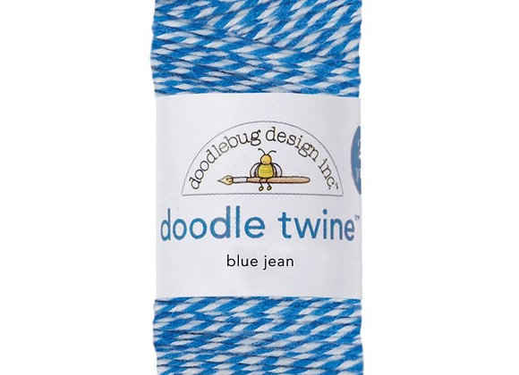Blue Jean Doodle Twine