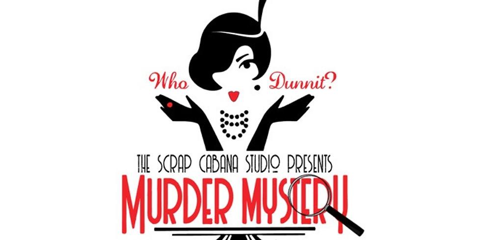 March 5, 6, 7, 2021 1920's Gatsby, Murder Mystery Themed Weekend Scrapbook Retreat