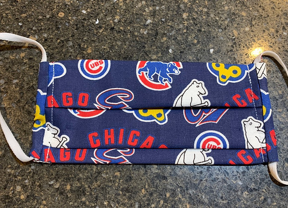 Chicago Cubs Cotton Fabric Cooperstown Mask