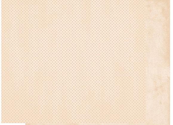 Chiffon Double Dots 12X12 2-Sided Cardstock Paper BoBunny