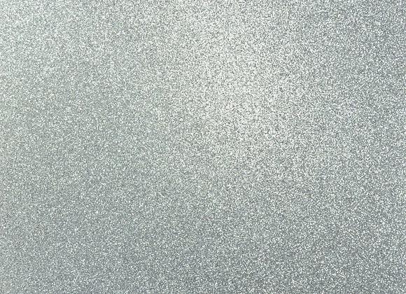 Platinum Glitter 12x12 Cardstock