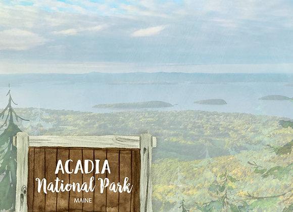 Acadia National Park 12x12