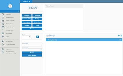 Zeiterfassung mittels Webclient